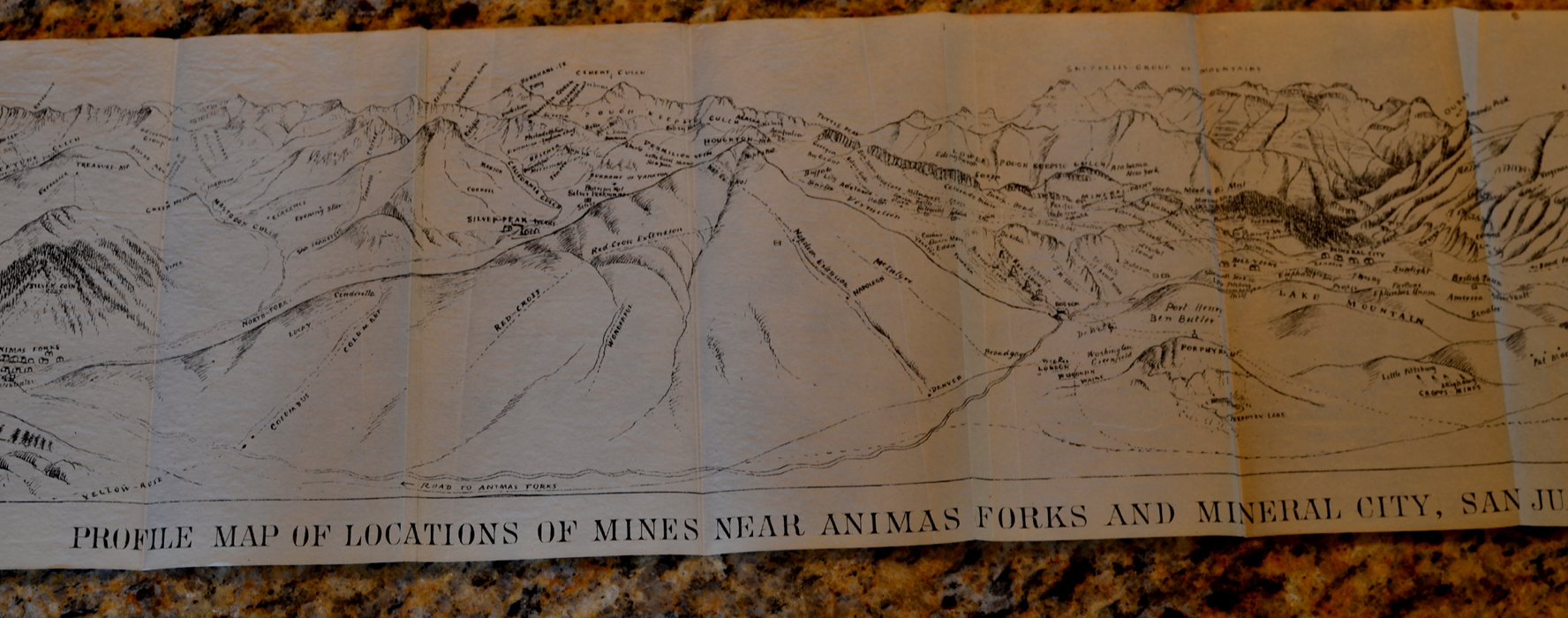 Original 12 Page Booklet In Near Fine Condition Map Itself Is In Near Fine Condition With No Markings Map Cover Dimensions 8 Inches By 5 1 4 Inches