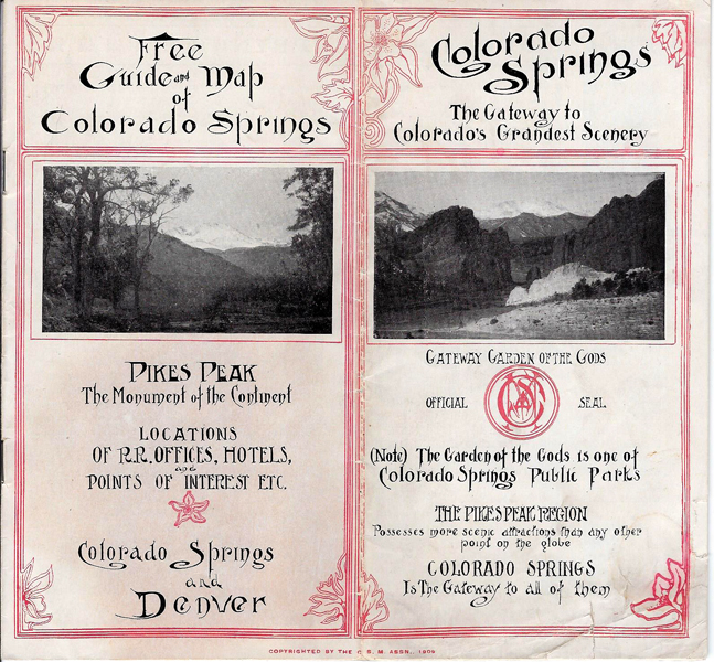 Colorado History Through Boosterism And Tourism. MT
